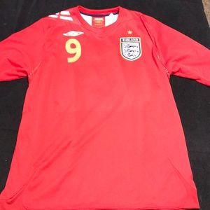 Wayne Rooney England soccer jersey